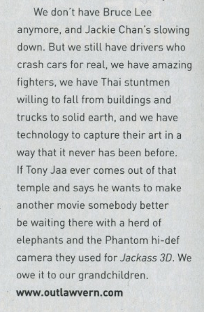 From my Badass Cinema 101 column in the June, 2011 issue of CLiNT Magazine