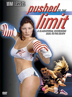 The movie is way better than the DVD cover implies except that she never wears this patriotic outfit