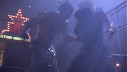 A typical frame from the final fight