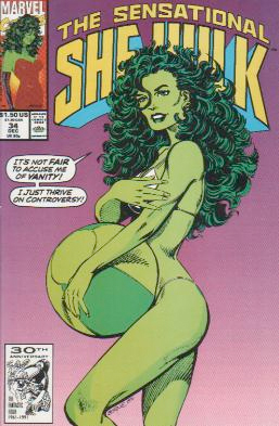 I don't know WHERE those guys got the idea She-Hulk was ever supposed to be a sex object, that is just ludicrous.