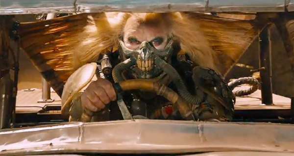 Man, this guy is really riding my ass. What the hell is this guy's-- OH SHIT! IT'S IMMORTAN JOE!